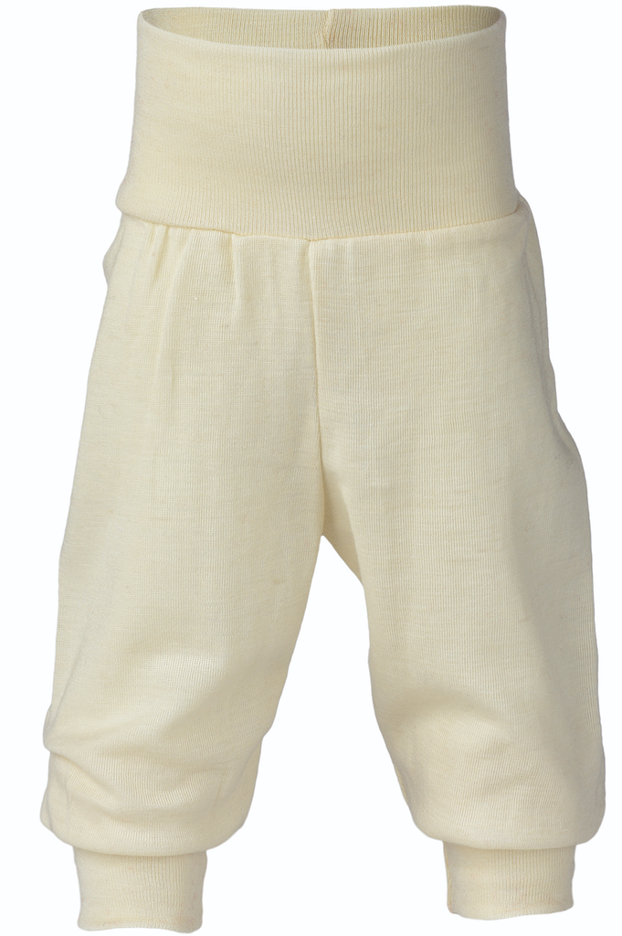 Organic Wool / Silk Baby Pants Color: Natural