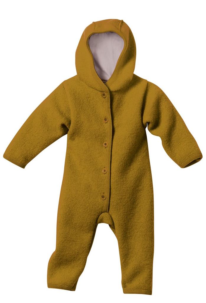 Disana Organic Boiled Wool Bunting Color: Gold
