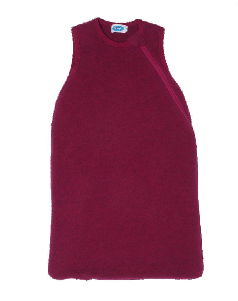 Organic Wool Fleece Sleep Sack Color: Berry