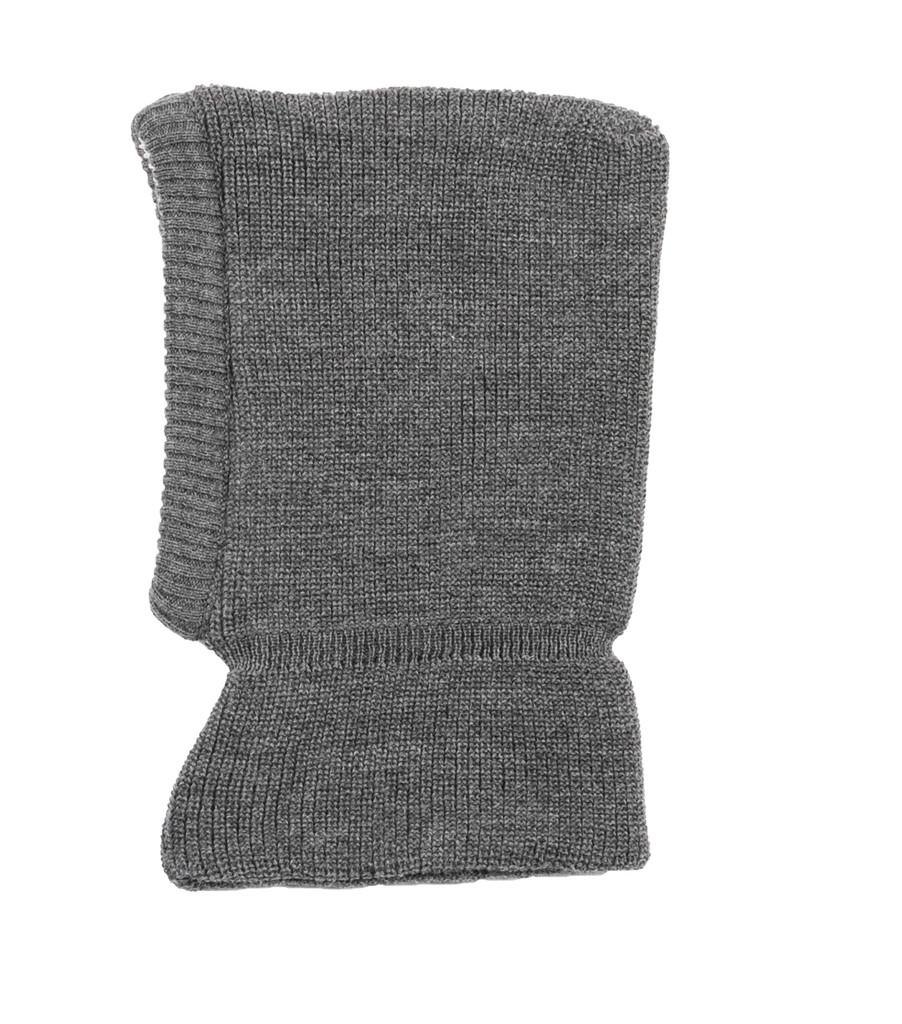 Organic Merino Wool Balaclava Color: Slate Grey