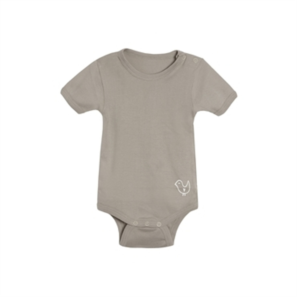 Living Crafts Organic Cotton Short-Sleeved Bodysuit