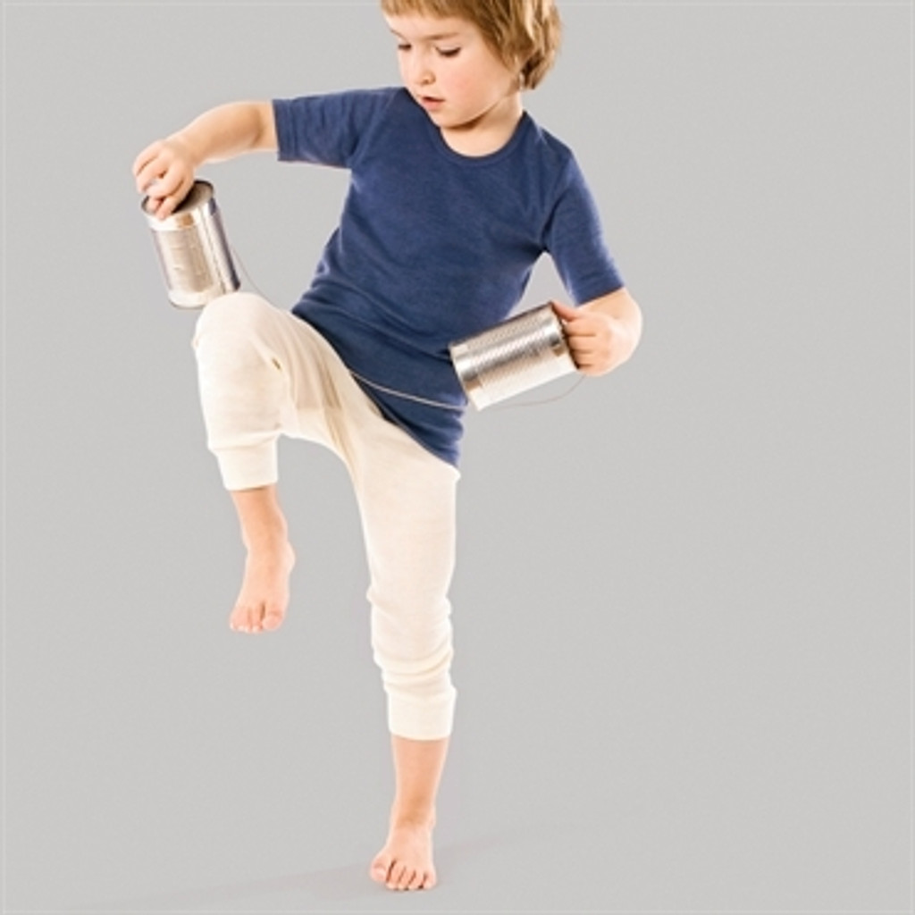 Organic Wool/Silk Long Johns for Children ( pants only )