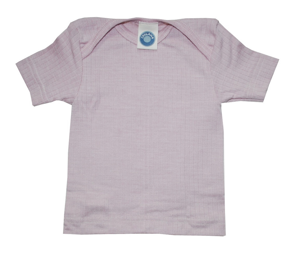 Cosilana Organic Wool/ Silk/ Cotton Short Sleeved Shirt