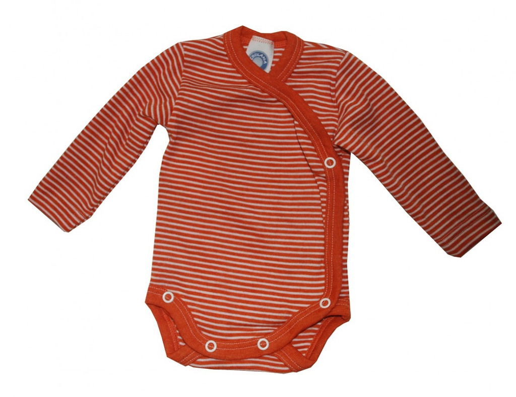 Orange/ Natural Stripes
