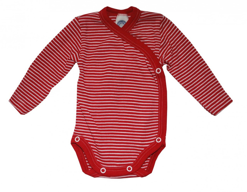 Red/ Natural Stripes