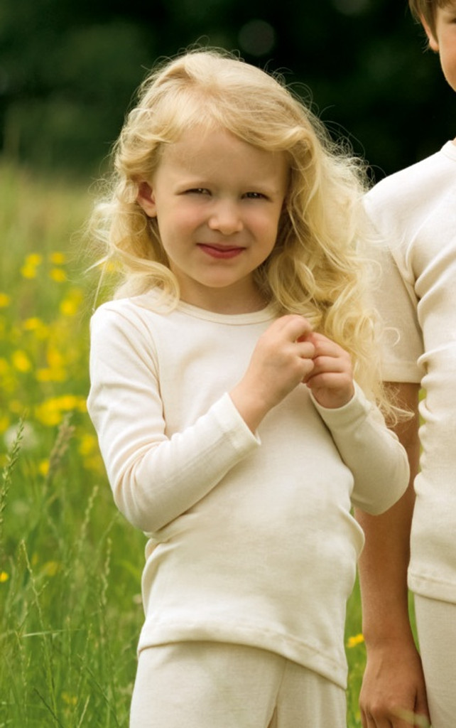 Engel Organic Merino Wool Children's Long Sleeved Shirt