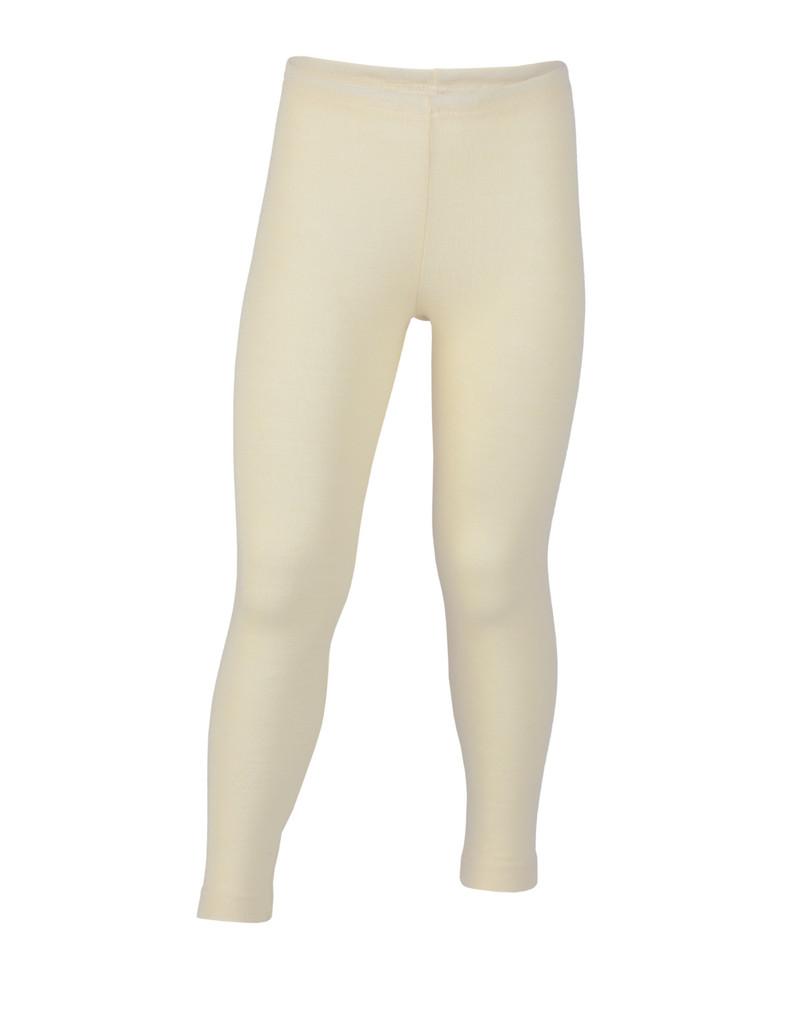 Organic Wool/ Silk Children's Leggings Color: natural