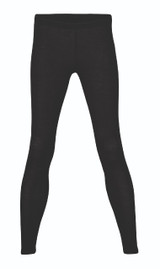 Engel Organic Wool/Silk Women's Leggings Color: Black