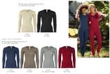 Engel Organic Wool/Silk Women's Long Sleeved Shirt