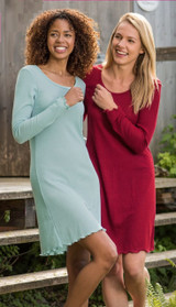 Organic Wool/ Silk Women's Nightgown