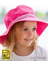 Organic Cotton Sun Hat Color: 217 Fuschia (UV80)
