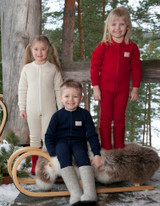 Ruskovilla Organic Merino Wool Underdungarees for Children