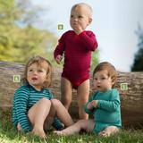 Organic Wool/ Silk Baby Bodysuit