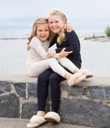 Ruskovilla Organic Wool/Silk Long Underwear Pants for Children