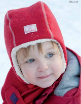 Boiled Wool Winter Hat