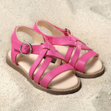 "Natural Leather Children's Sandal | ""Nina"""