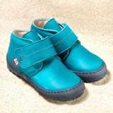 Pololo Natural Leather Shoes Color: Waikiki