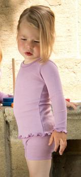 Engel Organic Wool/ Silk Girls' Pajama Top