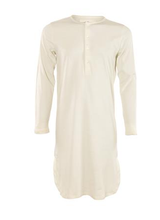 Unisex Nightgown  Organic Cotton