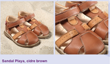 Natural Leather Sandal | Pololo