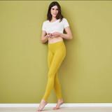 Women Organic Cotton Leggings Color: 790 brass