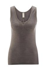 Women's Sleeveless Shirt Color: 77 Charcoal
