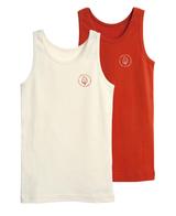 Kid's Sleeveless Shirt | Organic cotton 2 pack
