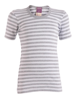 Grey Melange / White Striped