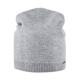 Organic Wool / Cashmere Women's hat Color: 93 silver grey