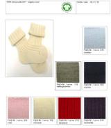 Organic Wool Baby Socks