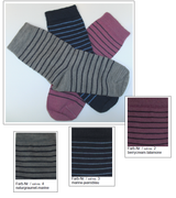 Organic Wool Cotton Kids' Socks | Grodo 14096