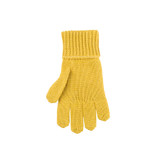 Kids Organic Wool Cotton Silk Gloves Color: 09 lemon curry