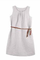 Organic Linen Women Summer Dress   PurePure 9402511