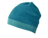 Organic Merino Wool Beanie Color:  922 Blue Lagoon