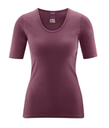 Women's Organic Cotton Short Sleeved Shirt | Living Crafts