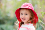 Organic Cotton Sun Hat Color: 14 Red (UV80)