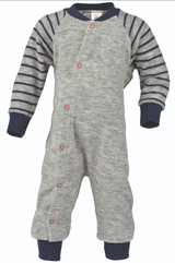 Organic Wool Terry Pajamas