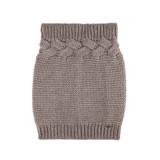 Organic Marino Wool Neck Warmer Color: 85 kaschmir