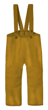 Disana Organic Boiled Wool Overalls Color: gold