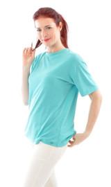 Silk Women's Shirt Color: 856 Turquoise