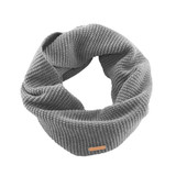 Organic Wool Cotton Loop Scarf