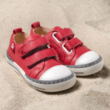 Natural Leather Children's Sneakers
