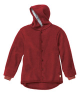 Disana Organic Boiled Wool Jacket Color: Bordeaux