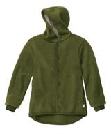 Disana Organic Boiled Wool Jacket Color: 581 Olive