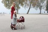 Disana Organic Boiled Wool Women's Coat Color: Bordeaux