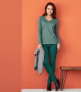 Women's Organic Cotton Long-sleeved shirt