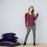 Women's Organic Cotton Wool Sweater