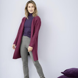 Women's Organic Cotton Wool Cardigan