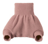 Organic Merino Wool Diaper Cover Color:  Rose