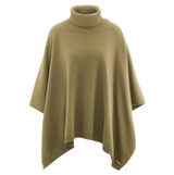 Women's Organic Wool Cotton Poncho